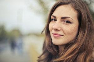 Selective photography of beautiful woman